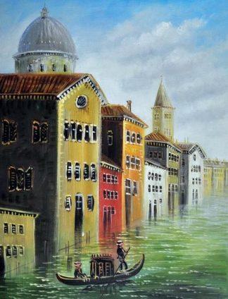 «Каналы Венеции» картина 30х40 3гр036