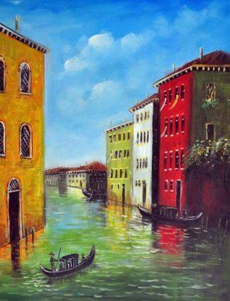 «Каналы Венеции» картина 30х40 3гр040