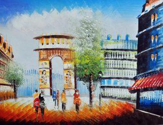 «Париж» картина 30х40 3гр043