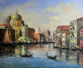 «Виды Венеции» картина 50х60 5гр311