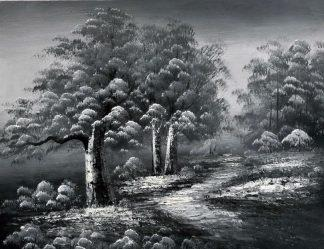 «Пейзаж» картина 30х40 3м012