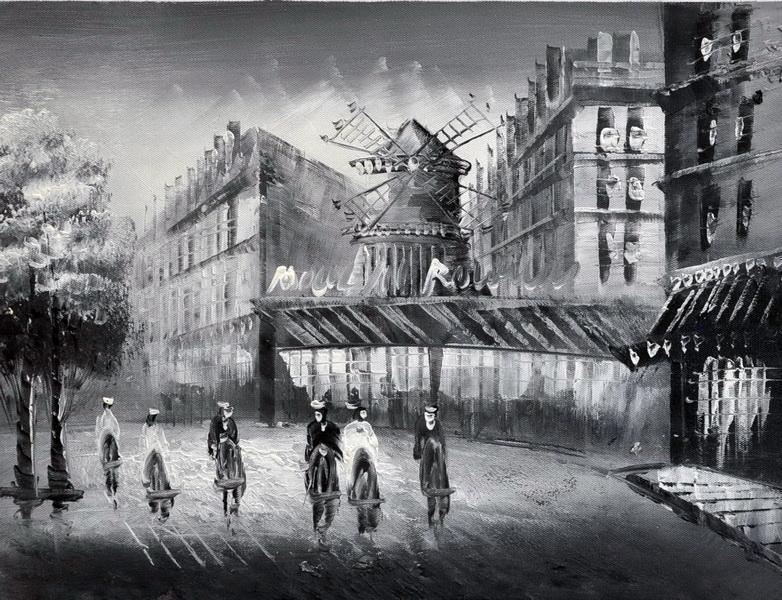 «Мулен Руж» картина 30х40 3м017
