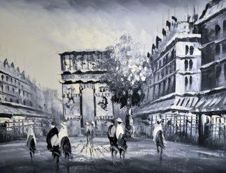 «Триумфальная арка» картина 30х40 3м018