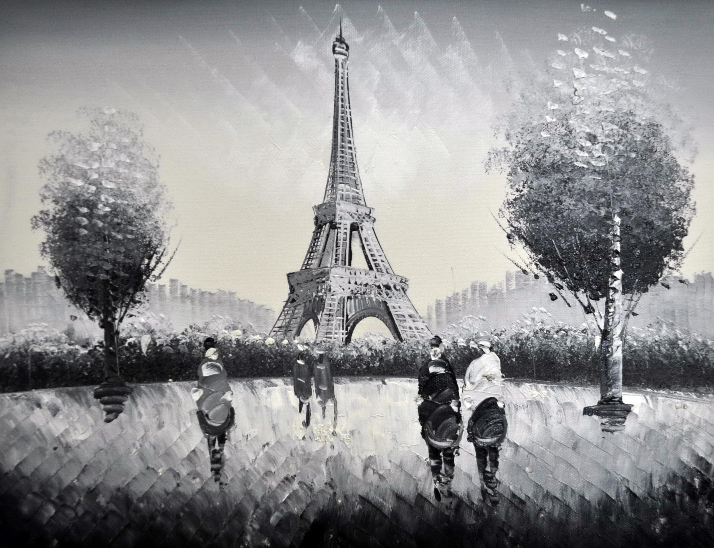 «Париж» картина 30х40 3м019