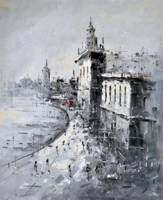 «Набережная» картина 50х60 5м160