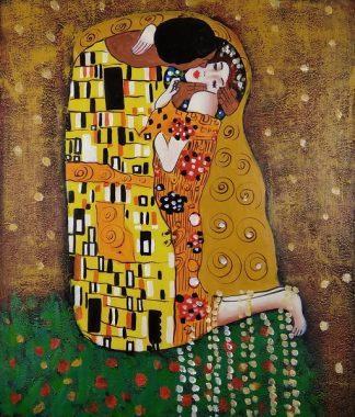 «Поцелуй Климта» картина 30х40 3р004