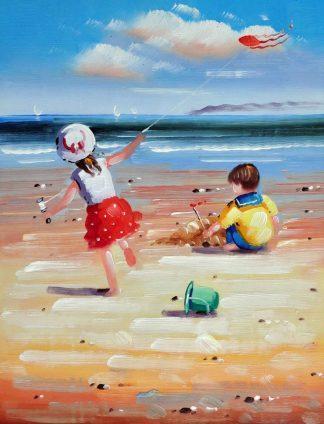 «Выходные на пляже» картина 30х40 3р080