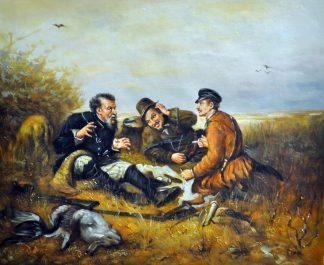 «Привал» картина 50х60 5р194
